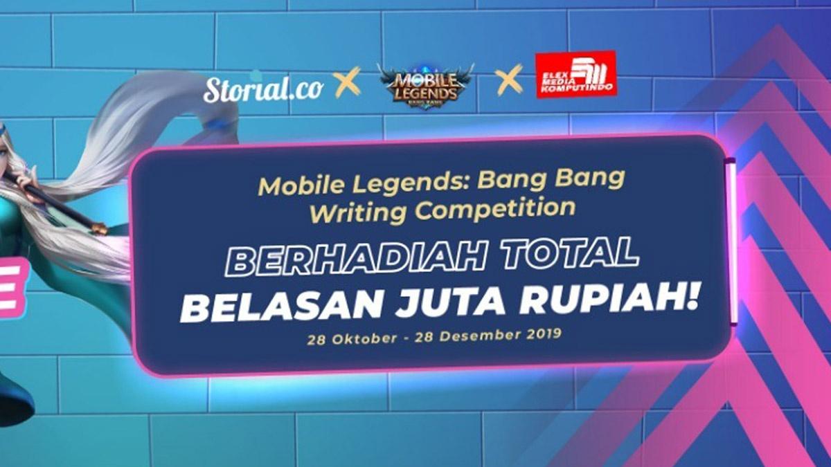 Kompetisi Fanfiction Mobile Legends Storial.co dan Elex Media