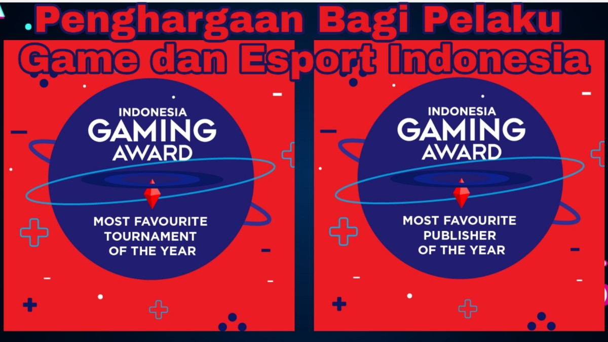 Indonesia Gaming Award di EXGCon 2019
