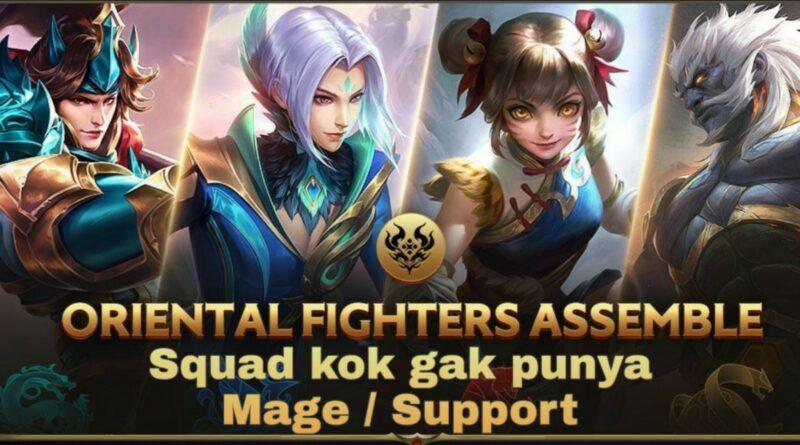 4 Hero yang Melengkapi 4 Oriental Fighters Mobile Legends