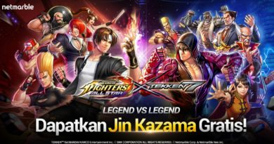 Kolaborasi Epik! Tekken 7 Bersama The King of Fighters ALLSTAR