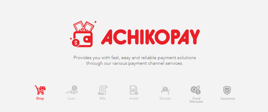 AchikoPay 5 Payment channel Indonesia Favorit 2019