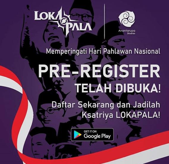 pre-registerLokapala