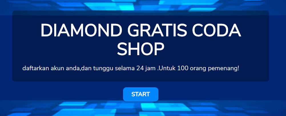 Beredar Link Phishing Diamond Gratis Free Fire Coda Shop, Awas Penipuan