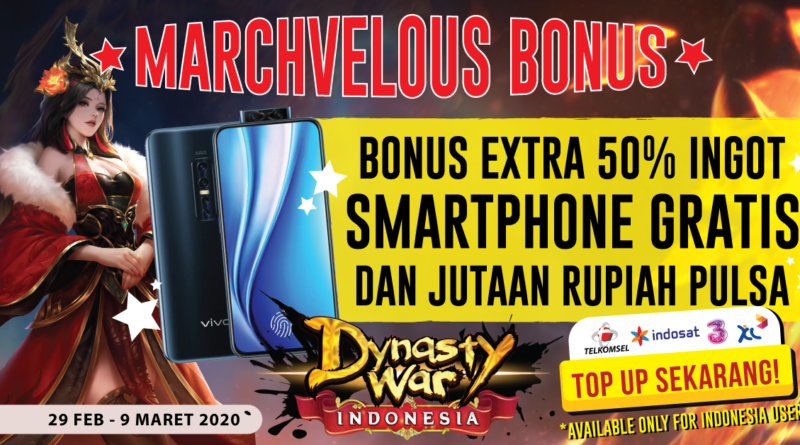 Dynasty War Bonus 50%