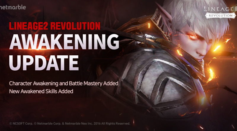 Sistem Awaken Class LINEAGE2 Revolution Kini Siap Dirilis Netmarble