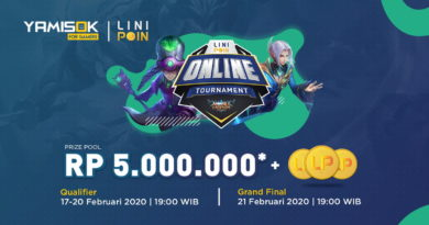 Linipoin Gandeng Yamisok Hadirkan Turnamen Mobile Legends