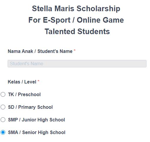 Sekarang Hobi Main Game, Bisa Dapat Beasiswa Esports Sekolah Stella Maris