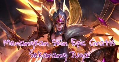 Gratis Skin Epic! Cuma Dengan Jawab Kuis Mobile Legend