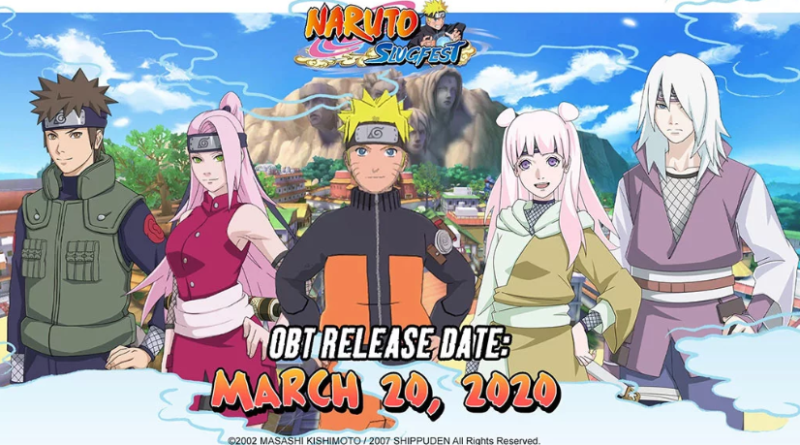 Naruto Slugfest Open World MMORPG Game 3D Naruto terbaru