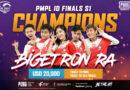 Bigetron Red Aliens PUBG Mobile Pro League 2020
