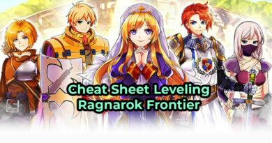 Cheat Sheet Ragnarok Frontier Cara Cepat Leveling