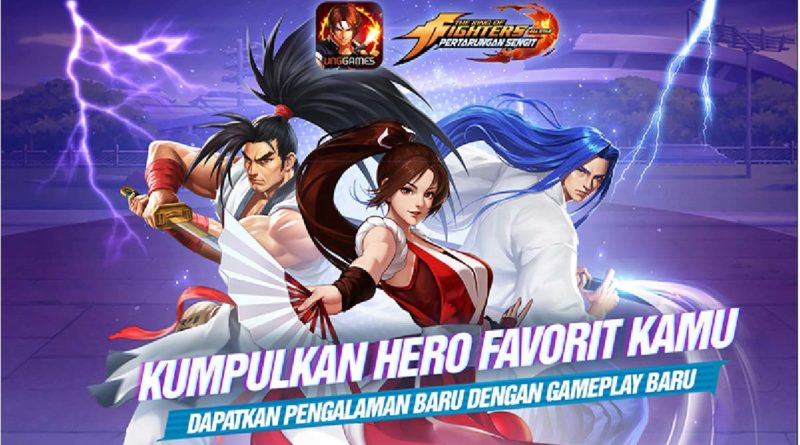 gameplay KOF ALLSTAR VNG