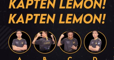Battle Emote Lemon RRQ Mobile Legends