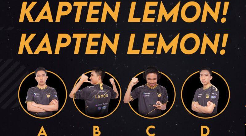 Battle Emote Lemon RRQ Mobile Legends