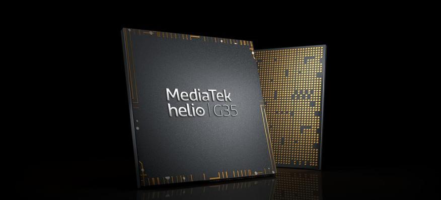 Chipset Permainan Helio G35 dan G25