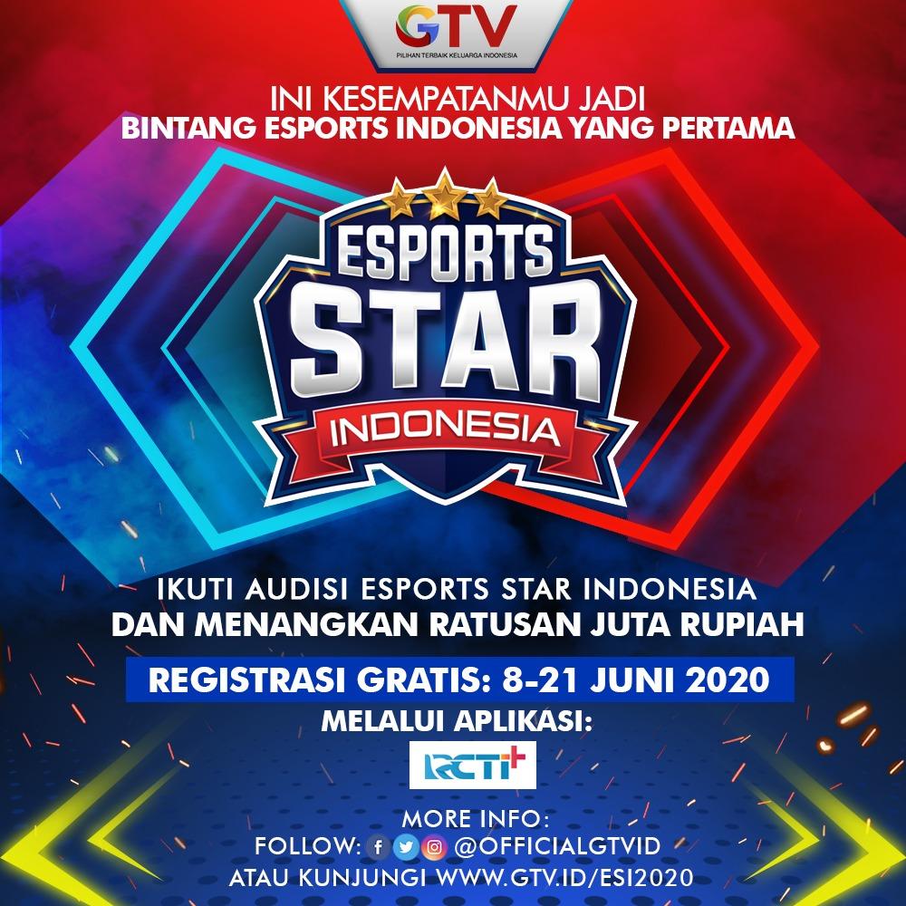 7000 Gamer Mobile Legends AUDISI ESPORTS STAR INDONESIA