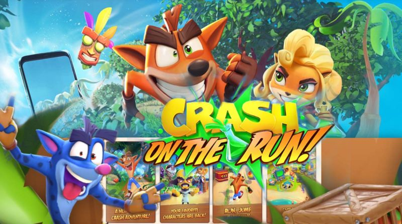 Crash On the Run - banner
