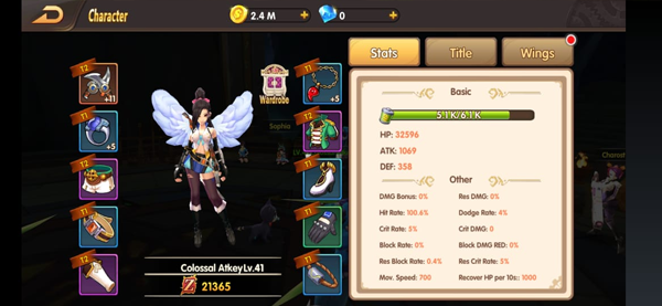 Blade & Wings MMORPG 3D
