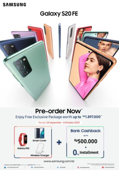 Fitur Premium Samsung Galaxy S20 FE Siap Manjakan Millennial