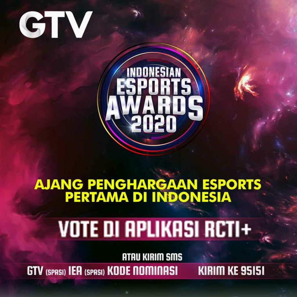 GTV Siap  Gelar  Ajang Penghargaan Esports Pertama