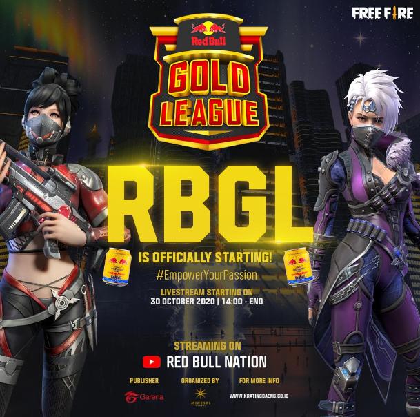 Mau 300 Juta dari Game Free Fire? Ini dia Red Bull Gold League