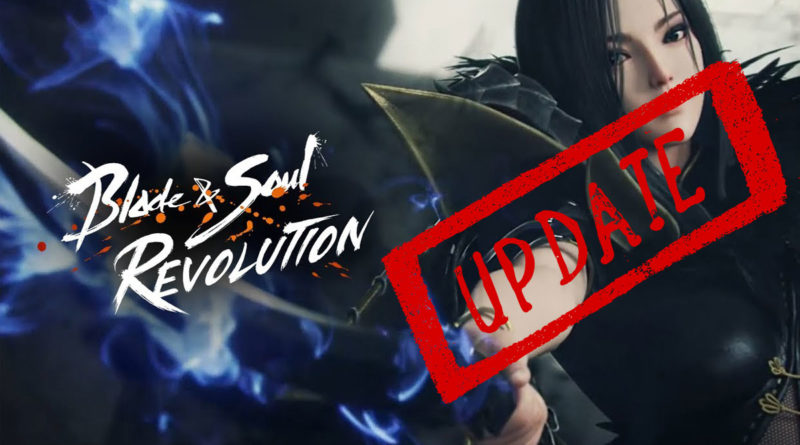 Update Blade & Soul Revolution