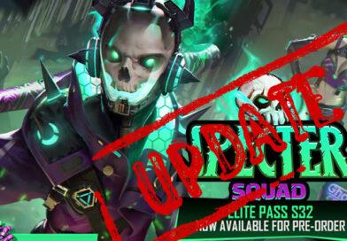 Garena Free Fire Spectre Squad