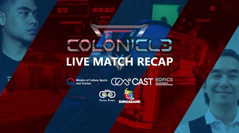 Gelaran Pertandingan game FPS VR Colonicle Live Match 2020 berlangsung seru.