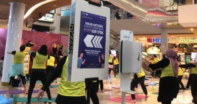 Bersama Teman Sehat Acara Wellmover Fest Suskses digelar di Lagoon Avenue Mall Bekasi