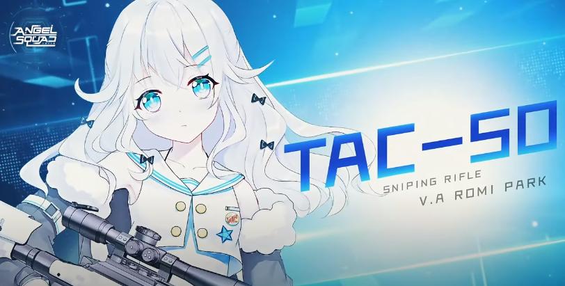 TAC-50 dengan sniping rifle nya Angel Squad shooter-rpg