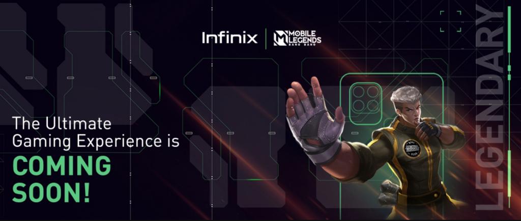 Kolaborasi Infinix x Mobile Legends