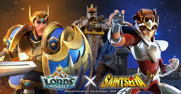Saint Seiya dan Lords Mobile