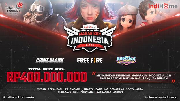 IndiHome MabarKuy Indonesia 2021!
