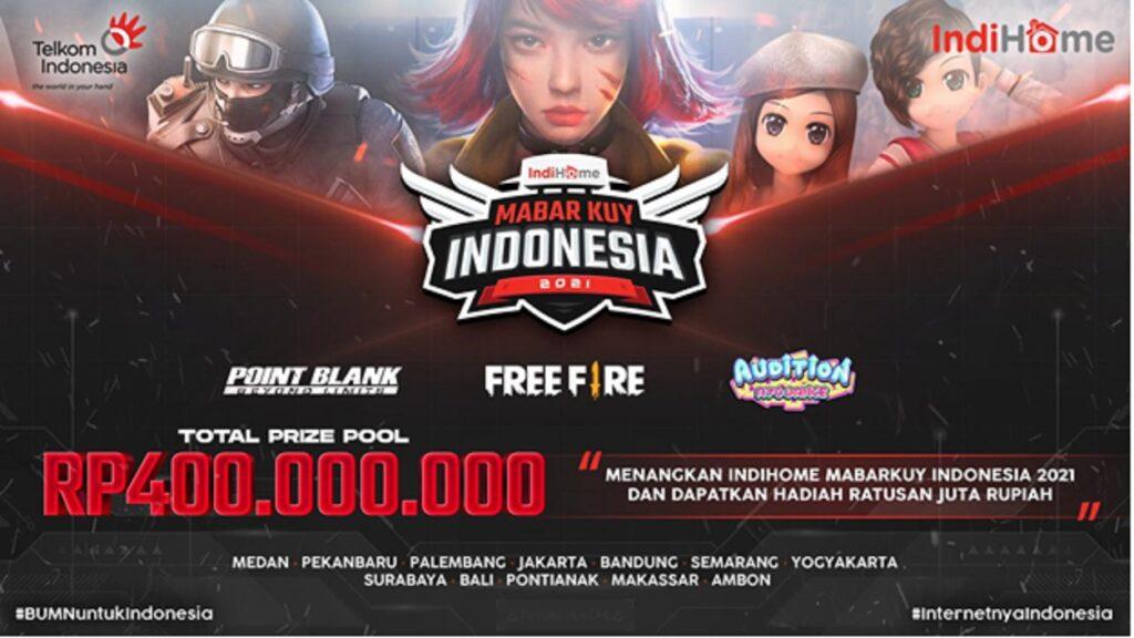 Upoint Dan IndiHome Gelar Kompetisi Esports Bertajuk Mabarkuy Indonesia Berhadiah Hingga Ratusan Juta Rupiah