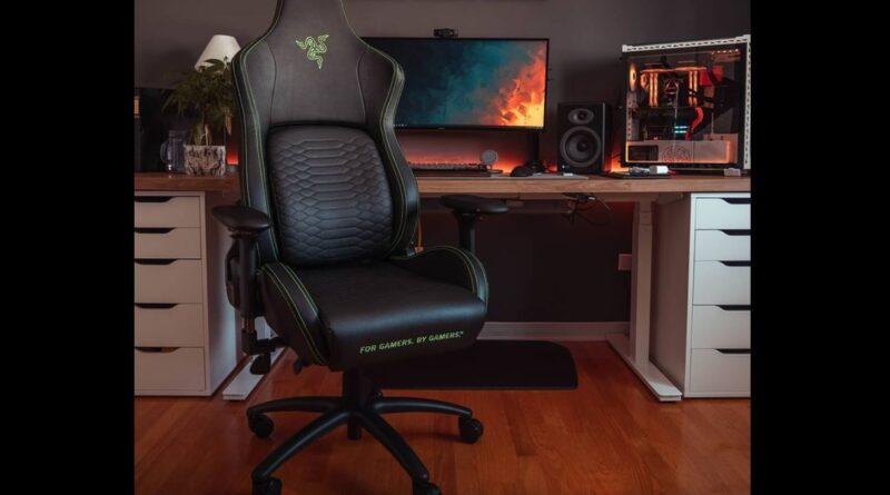 Ini dia detail kursi gaming dan cushion terbaru, CEO Razer giveaway 2 RAZER ISKUR
