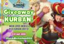 Lords Mobile Giveaway Pahala Kurban dan ratusan permata mulai 5 – 11 juli 2021