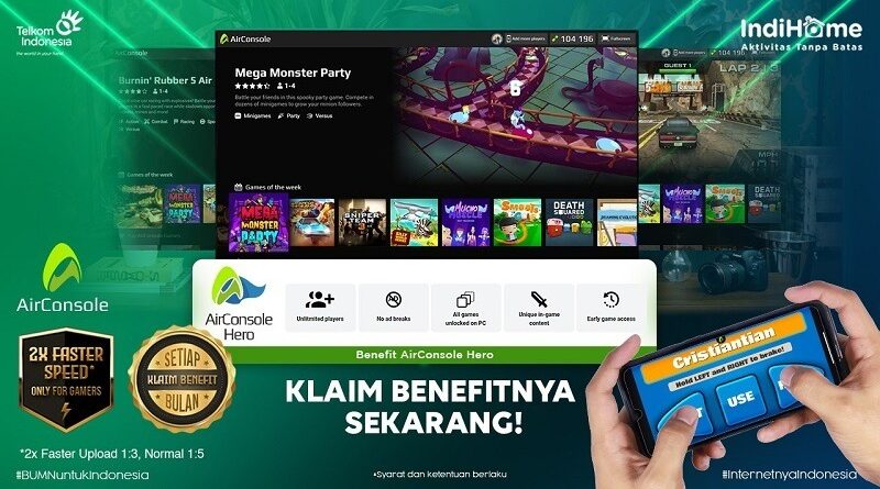 2021 ini, AirConsole Resmi Masuk Pasar Indonesia bersama Melon Indonesia