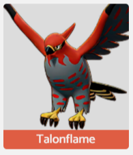 Talonflame Pokemon Unite