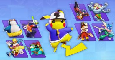 Pokemon unite battle items